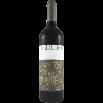 Bottle shot for 2018 Coelheiros Tinto (Aragonez Alicante Bouchet)