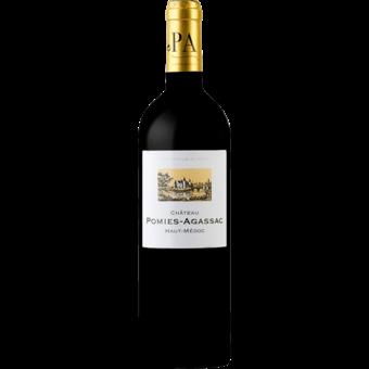 Bottle shot for 2014 Chateau Pomies Agassac Haut Medoc