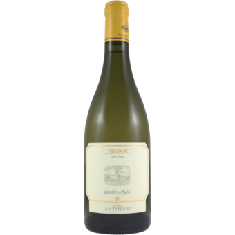 Bottle shot for 2019 Antinori Cervaro Della Sala