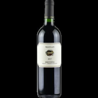 Bottle shot for 2017 Maculan Brentino Cabernet/Merlot