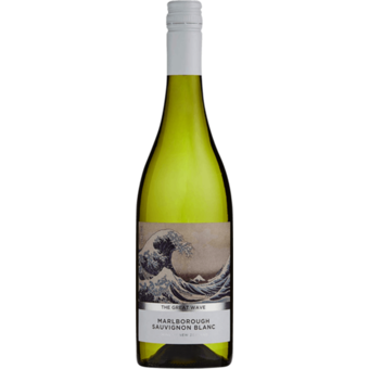 Bottle shot for 2020 The Great Wave Sauvignon Blanc