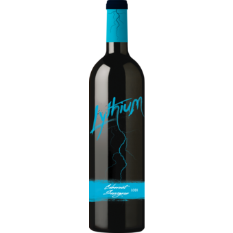 Bottle shot for 2017 Lythium Lodi Cabernet Sauvignon