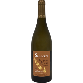 Bottle shot for 2018 Andre Neveu Sancerre Monts Damnes