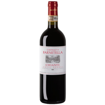 Bottle shot for 2018 Farnetella Chianti Colli Senesi
