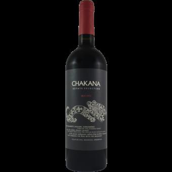 Bottle shot for 2018 Bodegas Chakana Malbec