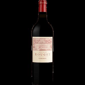 Bottle shot for 2016 Chateau Rouget (Pomerol)