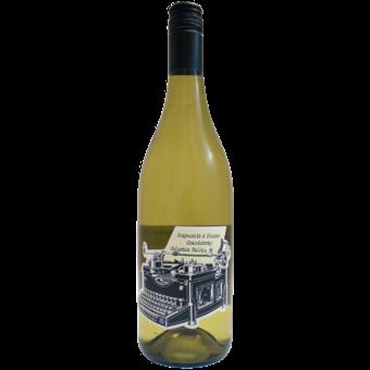 Bottle shot for 2018 Grapesmith & Crusher Chardonnay Columbia Valley