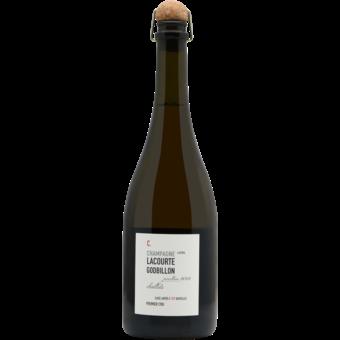 Bottle shot for 2012 Lacourte Godbillon Premier Cru Chaillots Champagne