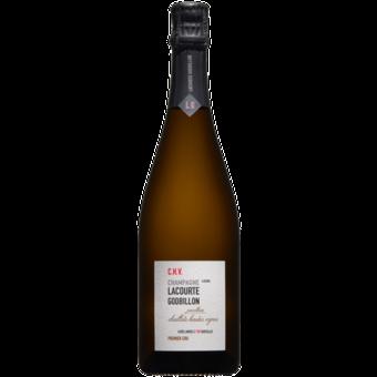Bottle shot for 2014 Lacourte Godbillon Premier Cru Champagne Chaillot Hautes Vigne