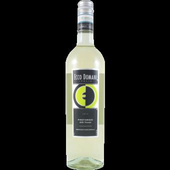 Bottle shot for 2019 Ecco Domani Pinot Grigio