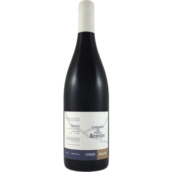 Bottle shot for 2018 Catherine And Pierre Breton Chinon Beaumont