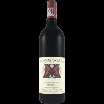 Bottle shot for 2015 Mayacamas Vineyards Merlot