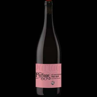 Bottle shot for 2015 Partage Coast Grade Vineyard Pinot Noir