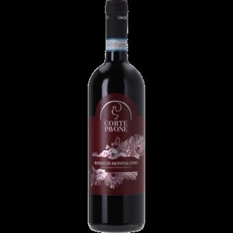 Bottle shot for 2017 Corte Pavone Rosso Di Montalcino