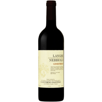 Bottle shot for 2017 Conterno Fantino Langhe Nebbiolo Ginestrino