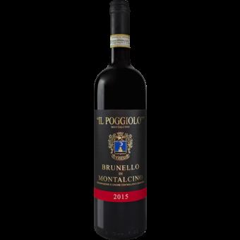 Bottle shot for 2015 Il Poggiolo Brunello Di Montalcino