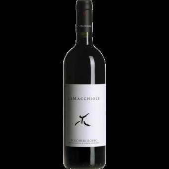 Bottle shot for 2017 Le Macchiole Rosso Bolgheri