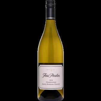 Bottle shot for 2019 Fess Parker Chardonnay Santa Barbara