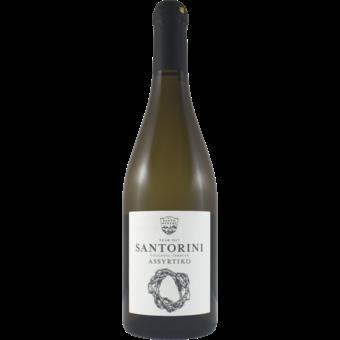 Bottle shot for 2019 Santo Santorini Assyrtiko