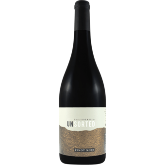 Bottle shot for 2018 Unsorted Pinot Noir