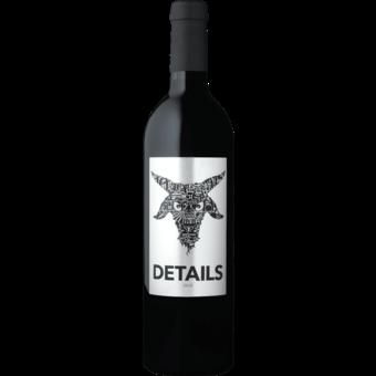 Bottle shot for 2018 Details Sonoma Cabernet Sauvignon By Sinegal Estate