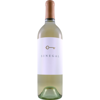 Bottle shot for 2018 Sinegal Sauvignon Blanc Napa Valley