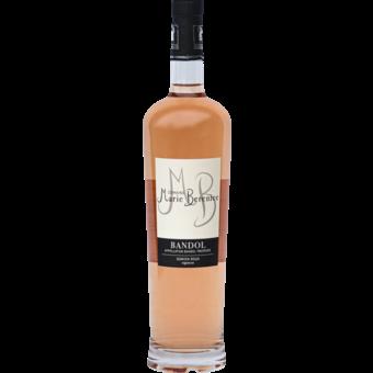 Bottle shot for 2019 Domaine Berenice Bandol Rose