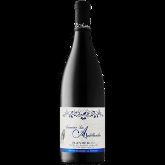 """Bottle shot for 2017 Aphillanthes Cotes Du Rhone """"Galets Plan De Dieu"""""""