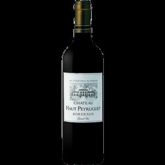 Bottle shot for 2018 Chateau Haut Peyruguet