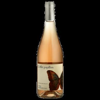 Bottle shot for 2020 Domaine Roc Des Anges Rose Effet Papillon