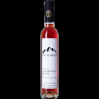 Bottle shot for 2017 Snow Ridge Cabernet Franc Icewine Niagara Peninsula