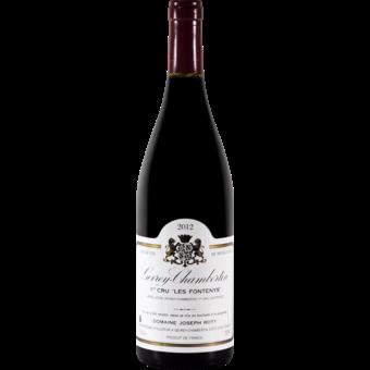 Bottle shot for 2012 Joseph Et Philippe Roty Gevrey Chambertin 1er Cru Les Fontenys