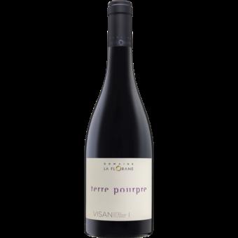 Bottle shot for 2016 Domaine La Florane Terre Poupre Cotes Du Rhone
