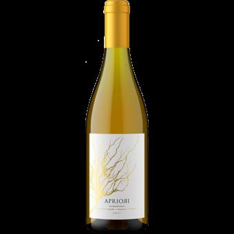 Bottle shot for 2017 Apriori Sonoma Chardonnay