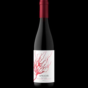 Bottle shot for 2017 Apriori Sonoma Pinot Noir