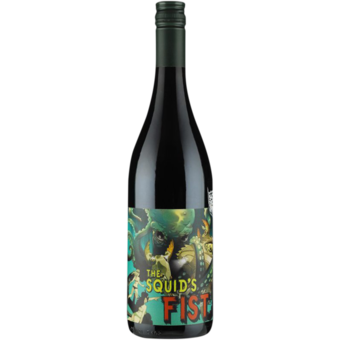 Bottle shot for 2018 Some Young Punks The Squids Fist Clare Valley