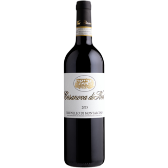 Bottle shot for 2016 Casanova Neri Brunello Di Montalcino White Label