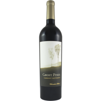 Bottle shot for 2018 Ghost Pines Cabernet Sauvignon