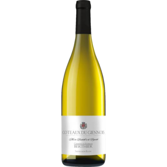 Bottle shot for 2019 Clement Et Florian Berthier Coteaux Du Giennois Blanc