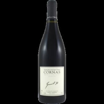 Bottle shot for 2019 Vincent Paris Cornas Granit 30