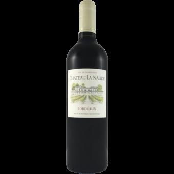 Bottle shot for 2017 Chateau La Naude Bordeaux Rouge