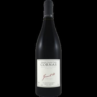Bottle shot for 2019 Vincent Paris Cornas Granit 60