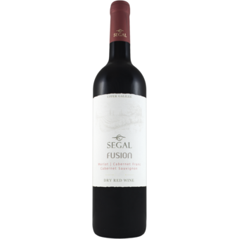 Bottle shot for  Segal's Fusion Red