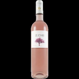 Bottle shot for 2020 Domaine Skouras Zoe Rose
