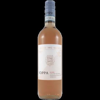 Bottle shot for 2020 Ioppa Nebbiolo Rusin Colline Novaresi Rose
