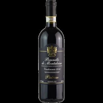 Bottle shot for 2016 Pietroso Brunello Di Montalcino