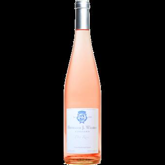 Bottle shot for 2020 Hermann J. Weimer Dry Rose