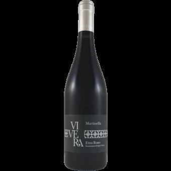 Bottle shot for 2014 Vivera Etna Rosso Martinella