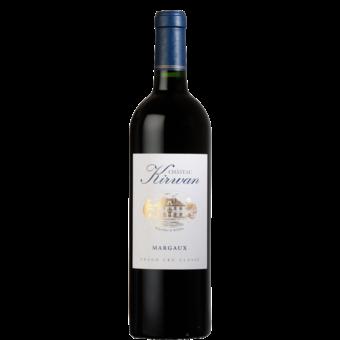 Bottle shot for 2018 Chateau Kirwan Margaux