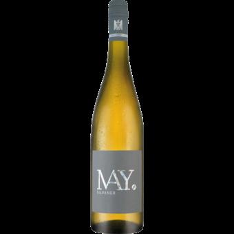 Bottle shot for 2017 Rudolf May Silvaner Trocken